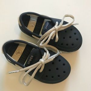 Boys Croc Boat Shoes